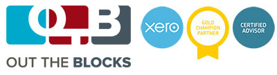 Out the Blocks | Small Business Accountants @ R2,100 p/m Logo